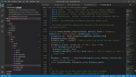 Visual Studio Code Layout